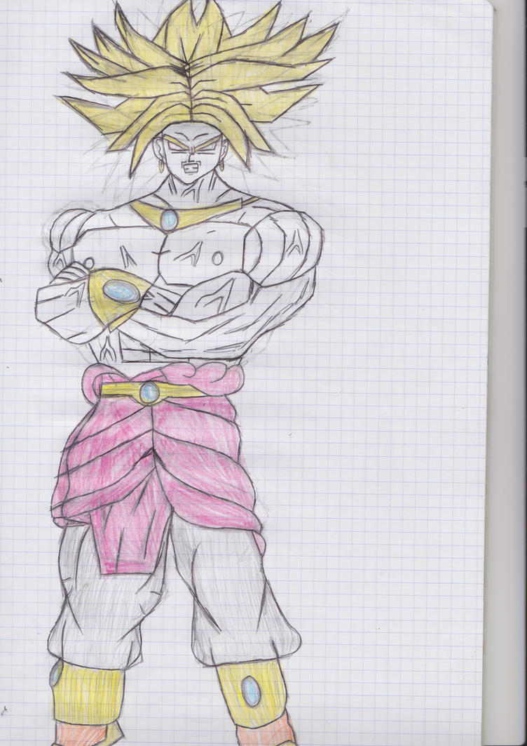 Mirai Trunks Legendary Super Saiyan by Driver93 on DeviantArt
