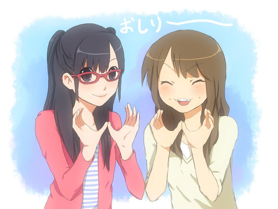 oshiri sisters by izumi07