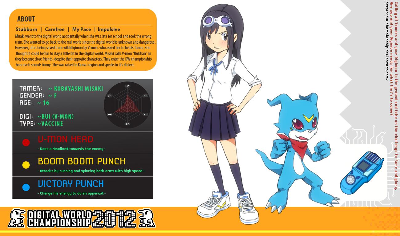 Goggle Girl? Dwc_application___misaki_and_v_mon_by_izumi07-d4udpw1