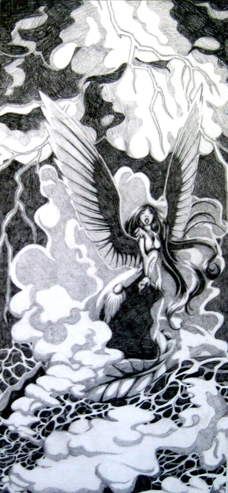 Siren of the Stormy Seas by Kiki-Tayler