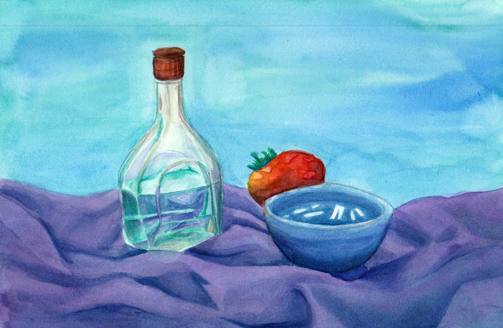Watercolor Still Life by Kiki-Tayler