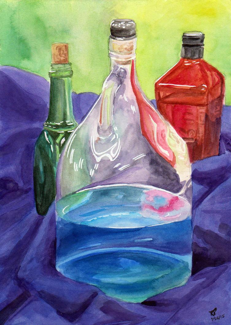 Bottles of Relief by Kiki-Tayler