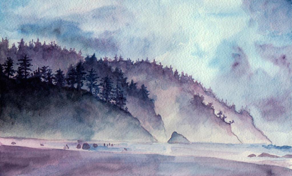 Oregon Coast by Kiki-Tayler