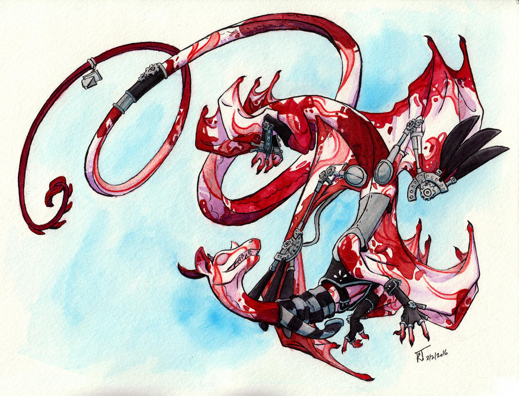 Flight Rising: Alpatu the Voiceless by Kiki-Tayler