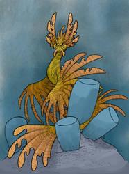 02- Leafy Sea Questzalcoatl