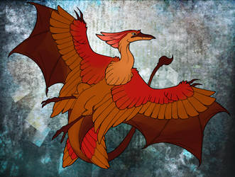 07 - Red-Backed Wyvern