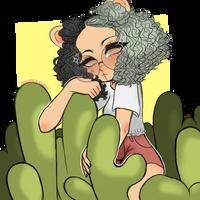 Cacti by milkcactus