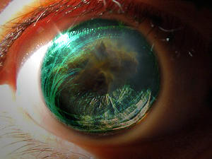 Cosmic Eye by stitchmouth