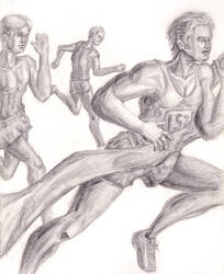 Marathon Sketch