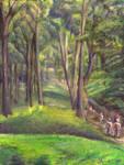Forest Murmurs by Sketchee