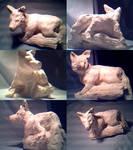 Perched Fox