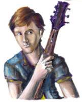 Guitar Guy by Sketchee