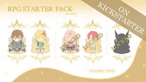 RPG Enamel Pins