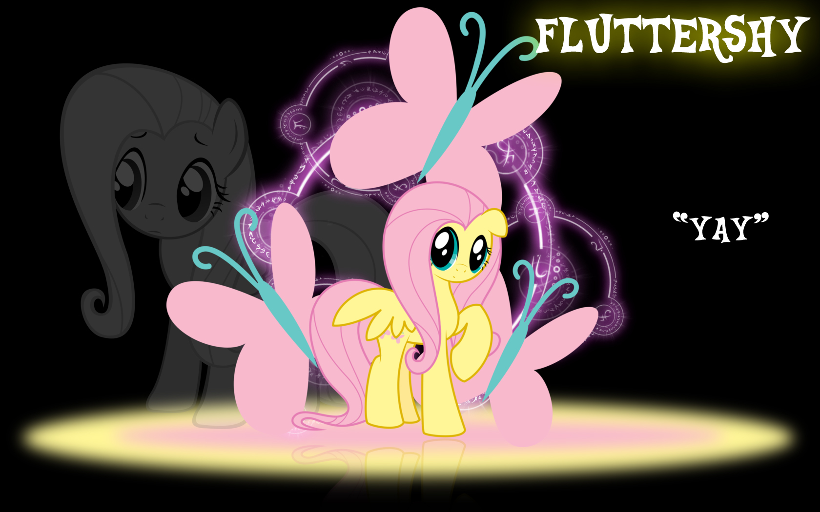 Fluttershy Wallpaper by PCS4DDT