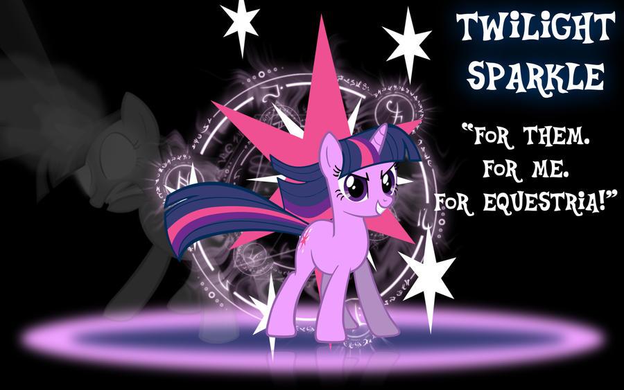 Twilight Sparkle Wallpaper by PCS4DDT