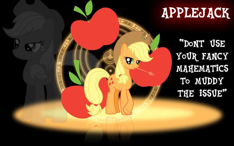 Applejack Wallpaper by PCS4DDT