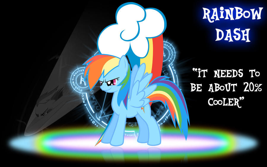 Rainbow Dash Wallpaper by PCS4DDT
