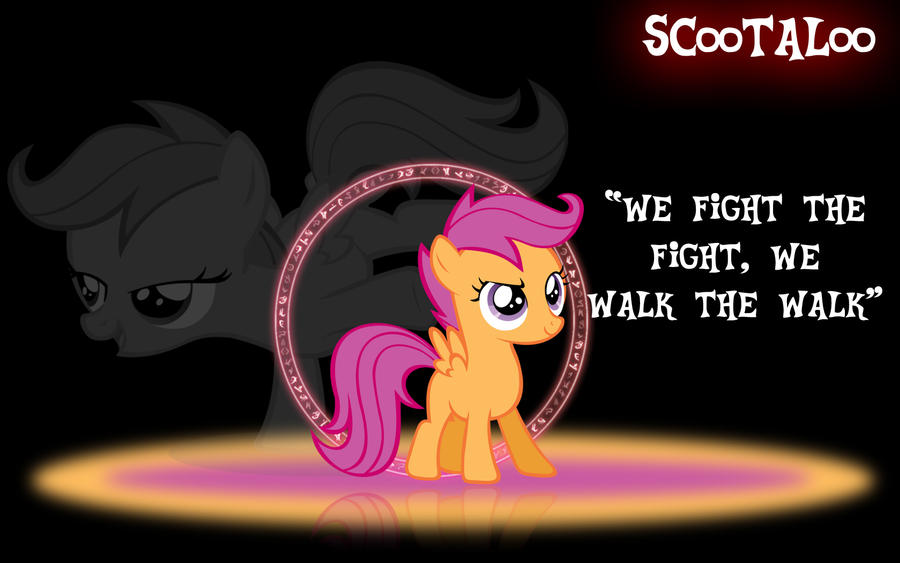 Scootaloo Wallpaper by PCS4DDT