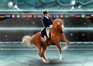 Houcka Imperial Winter Dressage Time to Shine by StableOfAres