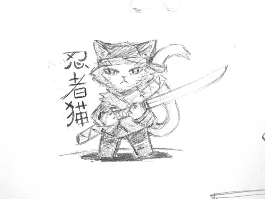 Ninja Neko by Roddar