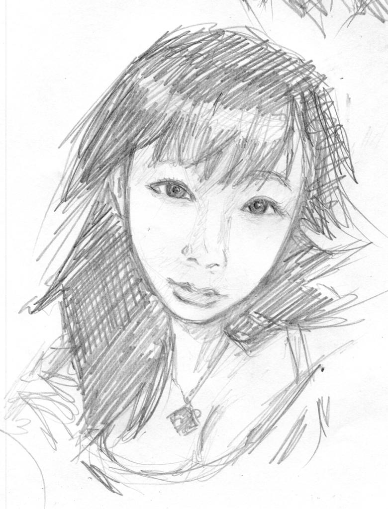 Portrait asiat by Roddar