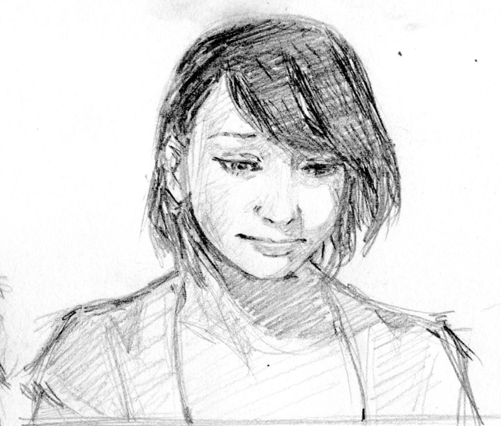 Portrait Inconnue by Roddar