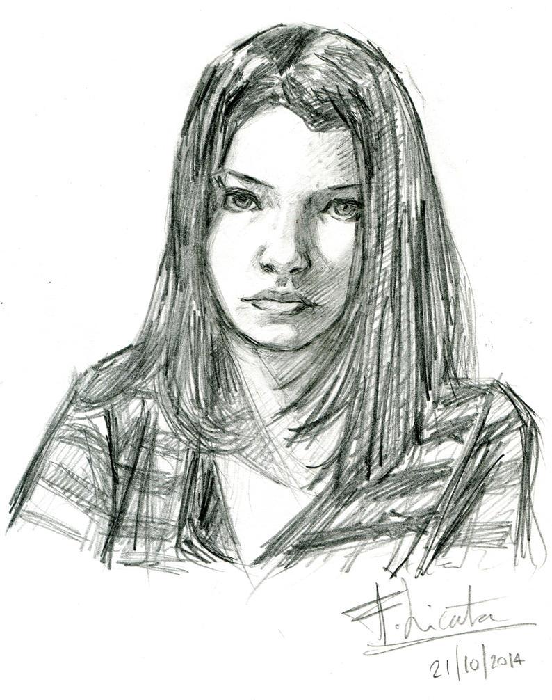 Portrait Guigui by Roddar