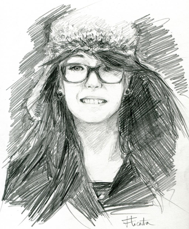 Portrait Nana by Roddar