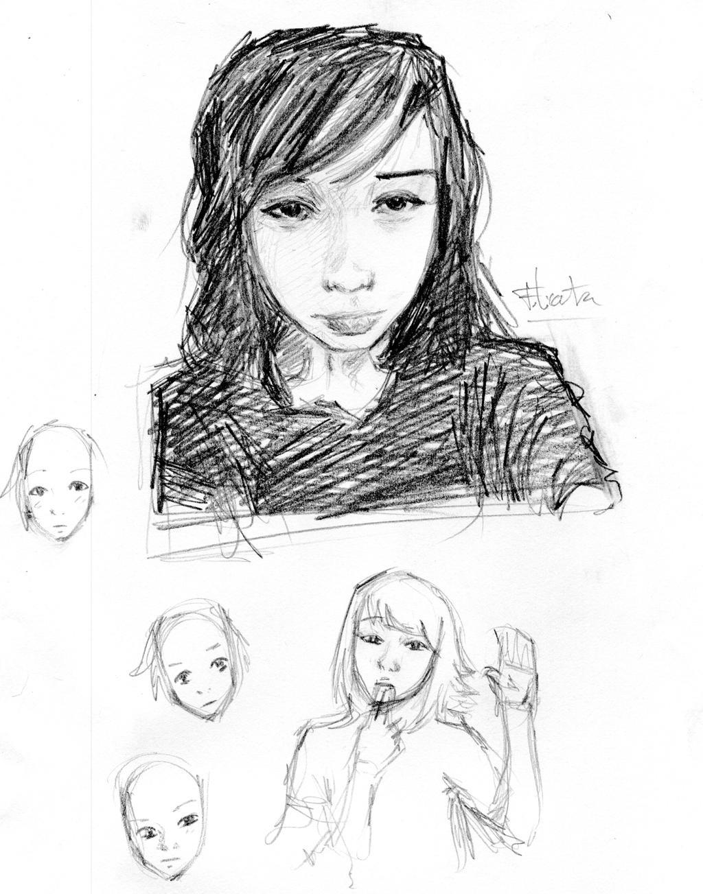 Portrait Katya by Roddar