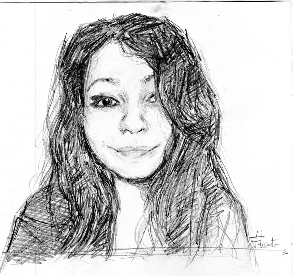 Portrait Ana by Roddar