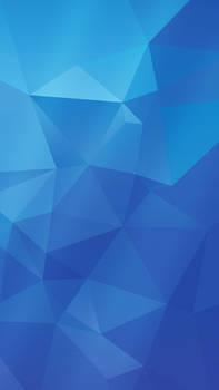 Samsung Galaxy S5 wallpaper | BLUE version