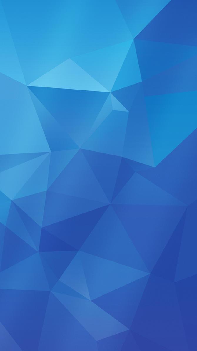 Samsung Galaxy S5 wallpaper   BLUE version by Shimmi1