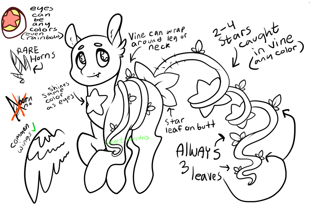 Starbies reference by LullabyPrince