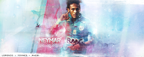 Neymar feat Lorenzo and Younes by michael7GFX