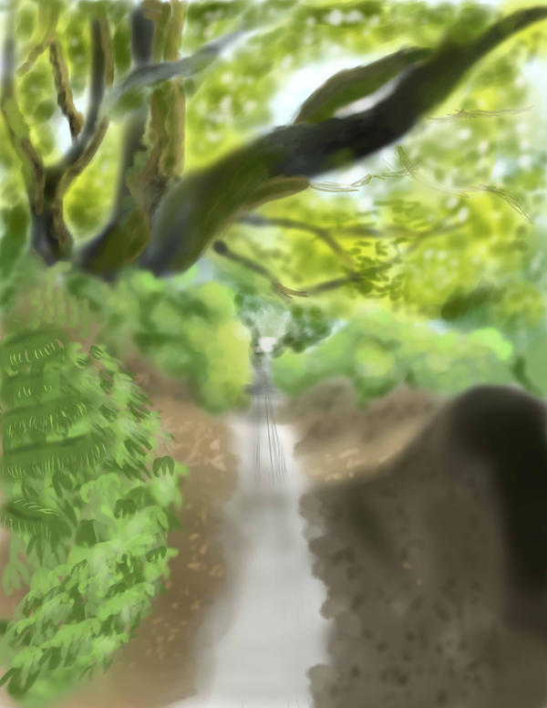Dirt Road Viewable by Sabishii106