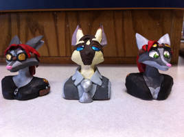 From Liz:Nainso and the Indis character busts