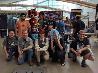 Anthrocon 2016 Dream Team! by ezioauditore97