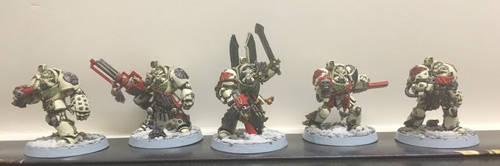 Deathwing Terminator Squad Barachiel by ezioauditore97
