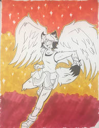 Winged Michi Inks