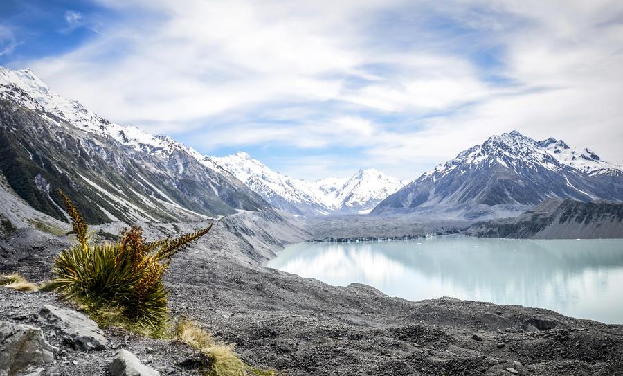Abel Tasman Glacier by gwenoder