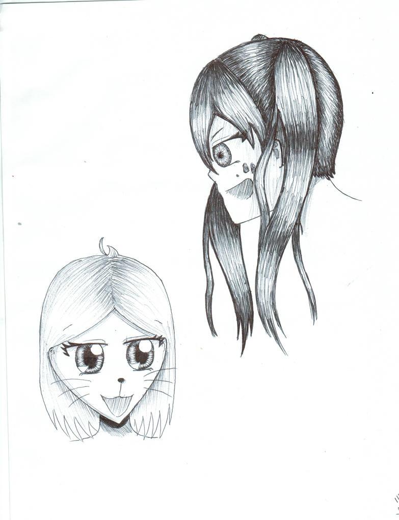 Ink doodles by Lulu-E