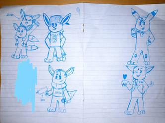 quick doodle from school