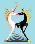 Unicorns siamese twins by RimmOlki
