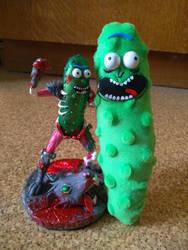 Pickle Rick by RimmOlki