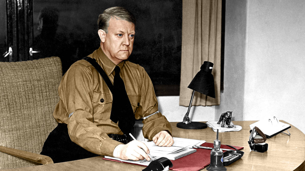 Vidkun Quisling 2 color by EstelleNation on DeviantArt