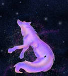 Celestial Wolf -background-