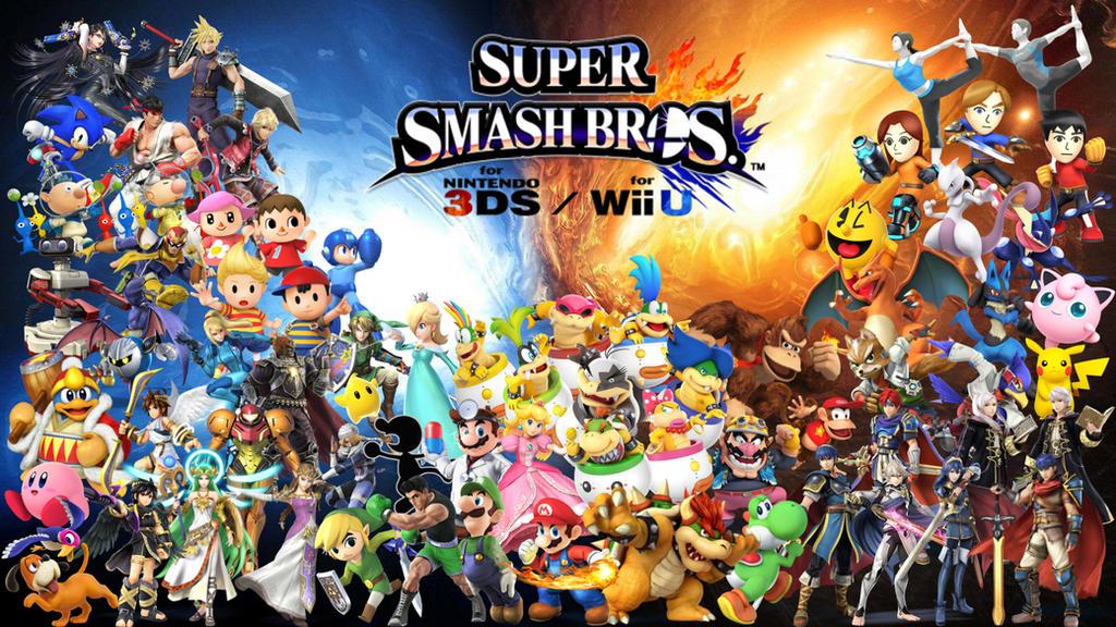 Super Smash Bros Wii U 3DS Wallpaper By Erron Black