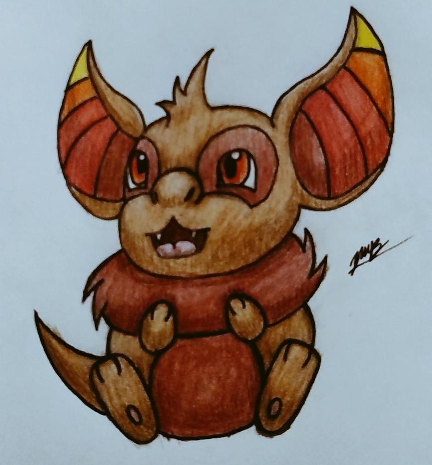 Flufflint (The Fluffy Pokemon) by Erron--Black