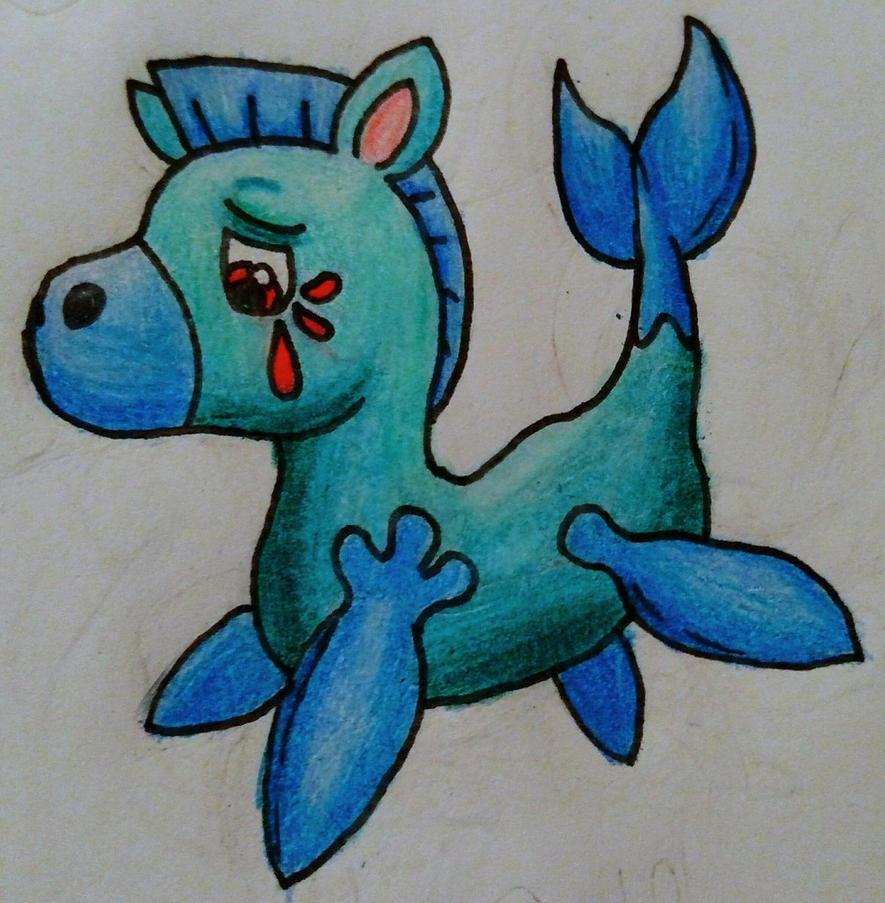 Calflow (The Water Horse Pokemon) by Erron--Black