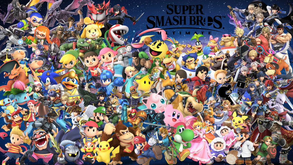 Super Smash Bros. Ultimate Wallpaper 4/22/19 by Erron ...